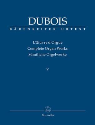 Oeuvre d'orgue. Volume 5 Théodore Dubois Partition laflutedepan