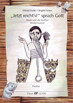 Witold Dulski - Jetzt reicht's! Sprach Gott. Noah und die Sintflut - Sheet Music - di-arezzo.com