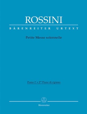 Gioachino Rossini - Small solemn mass. Piano 1 and piano ripieno - Sheet Music - di-arezzo.co.uk