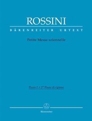 Gioachino Rossini - Pequeña misa solemne Piano 1 y piano ripieno - Partitura - di-arezzo.es