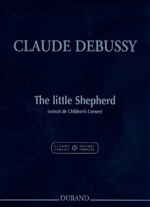Le petit berger. - DEBUSSY - Partition - Piano - laflutedepan.com