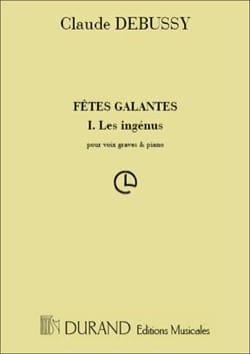 Les Ingénus. - Claude Debussy - Partition - laflutedepan.com