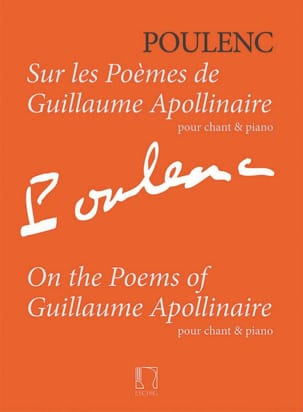 Francis Poulenc - On the poems of Guillaume Apollinaire - Sheet Music - di-arezzo.com