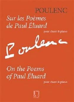 Sur les poèmes de Paul Eluard POULENC Partition laflutedepan