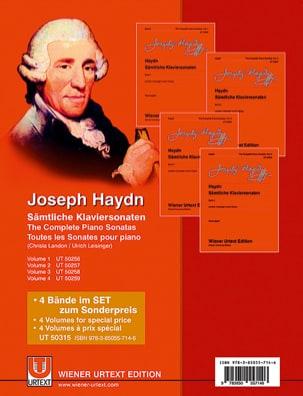 Sämtliche Klaviersonaten complet - HAYDN - laflutedepan.com
