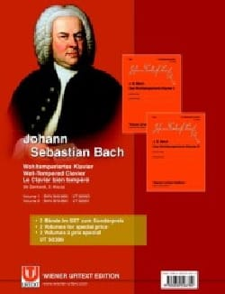 BACH - Das Wohltemperierte Klavier. Volumes 1 and 2 - Sheet Music - di-arezzo.co.uk