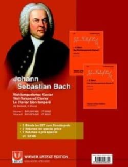 Jean-Sébastien Bach - Das Wohltemperierte Klavier. Volumes 1 et 2 - Partition - di-arezzo.fr