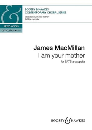 James Macmillan - I am your mother - Partition - di-arezzo.fr