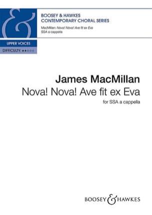 Nova! Nova! Ave fit ex Eva - James Macmillan - laflutedepan.com