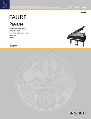 Gabriel Fauré - Pavane Opus 50. 4 hands - Sheet Music - di-arezzo.co.uk
