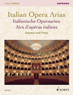 - Airs d'Opéras Italiens. Soprano - Partition - di-arezzo.fr
