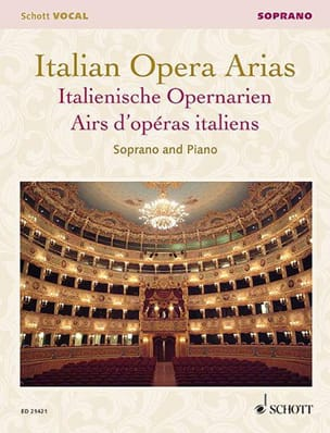 - Airs of Italian operas. Soprano - Sheet Music - di-arezzo.co.uk