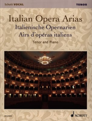 - Airs of Italian operas. Tenor - Sheet Music - di-arezzo.com