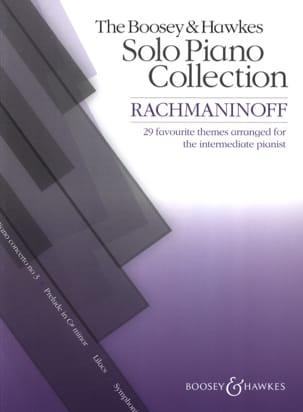 RACHMANINOV - 29 favourite themes arranged for intermediate pianist - Partition - di-arezzo.fr