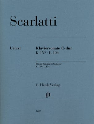 Domenico Scarlatti - Sonate pour piano en do majeur K159 L104 - Partition - di-arezzo.fr