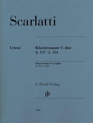 Sonate pour piano en do majeur K159 L104 SCARLATTI laflutedepan