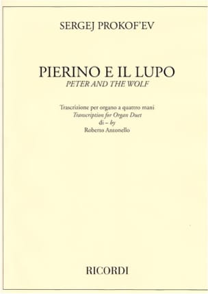 Sergei Prokofiev - Pierre and the Wolf - Sheet Music - di-arezzo.co.uk