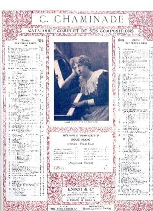 Valse carnavalesque op. 73. 2 pianos Cécile Chaminade laflutedepan