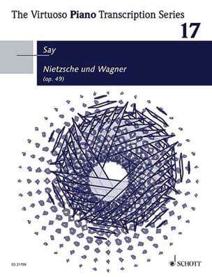 Nietzsche und Wagner op. 49 Fazil Say Partition Piano - laflutedepan