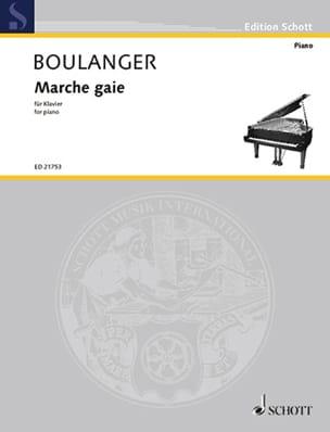 Marche gaie Lili Boulanger Partition Piano - laflutedepan