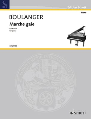 Lili Boulanger - Marche gaie - Partition - di-arezzo.fr