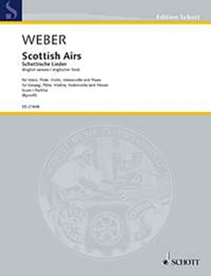 Carl Maria von Weber - Scottish tunes WeV U. 16 - Sheet Music - di-arezzo.co.uk