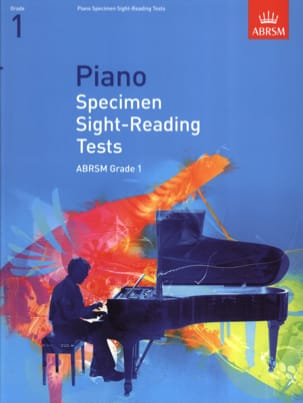 Piano specimen sight-reading tests. Grade 1 - Partition - di-arezzo.fr