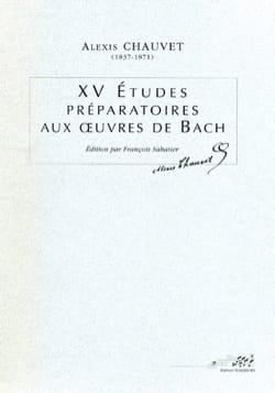 XV études préparatoires aux oeuvres de Bach - laflutedepan.com