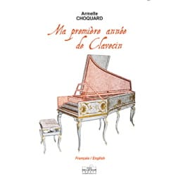 Armelle Choquard - My first year of harpsichord - Sheet Music - di-arezzo.co.uk
