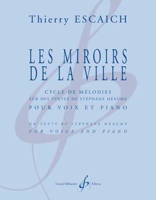 Thierry Escaich - Les miroirs de la ville - Partition - di-arezzo.fr