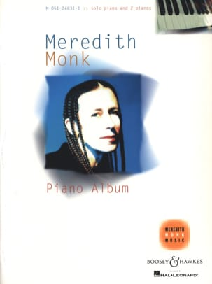 Meredith Monk - Piano album - Partition - di-arezzo.fr