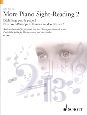 More Piano Sight-Reading. Volume 2 John Kember Partition laflutedepan