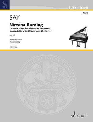 Fazil Say - Nirvana burning op. 30 - Partition - di-arezzo.fr
