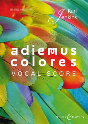 Karl Jenkins - Adiemus colores - Partition - di-arezzo.fr