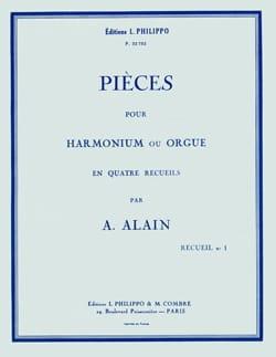 Pièces pour orgue Volume 1 Albert Alain Partition Orgue - laflutedepan