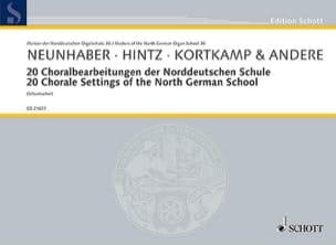 - 20 Choralbearbeitungen der Norddeutschen Schule - Partition - di-arezzo.fr