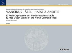 - 20 Freie Orgelwerke der Norddeutschen Schule - Partition - di-arezzo.fr