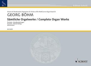 Georg Boehm - Orgelarbeit - Noten - di-arezzo.de