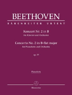 BEETHOVEN - Piano Concerto No. 2 op. 19 In B flat major - Sheet Music - di-arezzo.co.uk
