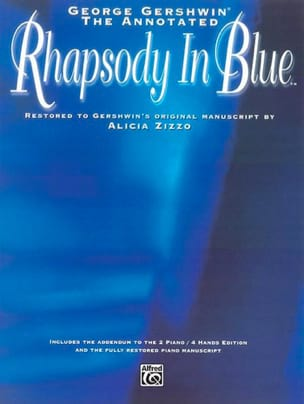 Rhapsody in blue - GERSHWIN - Partition - Piano - laflutedepan.com