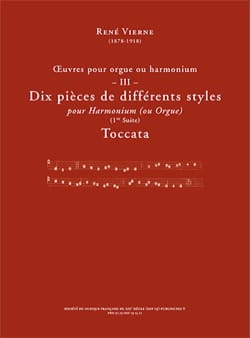 Oeuvres pour orgue. Volume 3 - René Vierne - laflutedepan.com