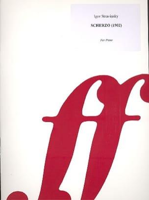 Scherzo - Igor Stravinski - Partition - Piano - laflutedepan.com
