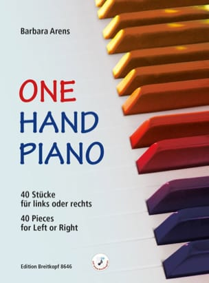 Barbara Arens - One hand piano - Partition - di-arezzo.fr