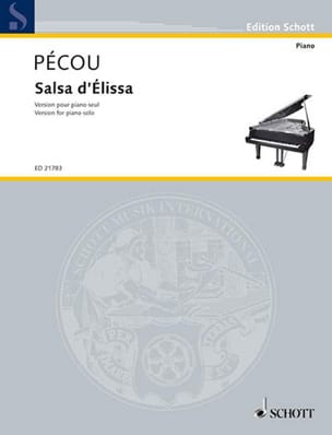 Thierry Pecou - Salsa d'Elissa - Partition - di-arezzo.fr