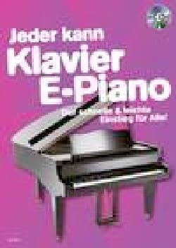 Jeder kann klavier e-piano + CD - Partition - di-arezzo.fr