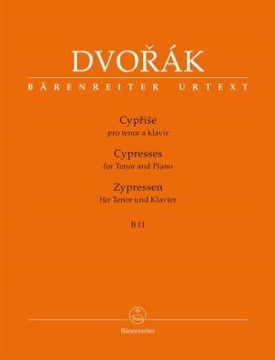 Cyprise. B 11 - Anton Dvorak - Partition - Mélodies - laflutedepan.com