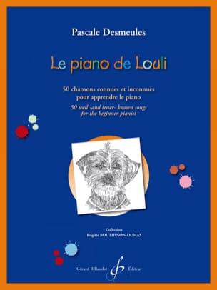 Le piano de Louli Pascale Desmeules Partition Piano - laflutedepan