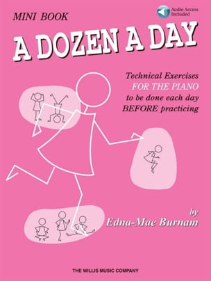 - A dozen a day MINI BOOK - with audios included in English - Sheet Music - di-arezzo.co.uk