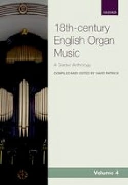 - 18th century english organ music. Volume 4 - Partition - di-arezzo.fr