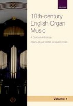 - 18th century english organ music. Volume 1 - Partition - di-arezzo.fr